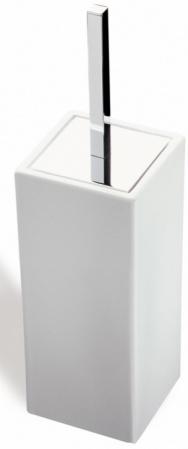 Ерш StilHaus Urania 633CUBE(08-BI) напольный хром / керамика белая