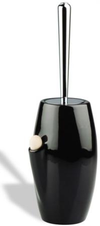 Ерш StilHaus Zefiro 646(08-NE) напольный с ароматизатором хром / черная керамика