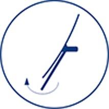 Зеркало косметическое Wasserkraft K-1006 настольное (3Х) хром