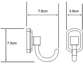 Крючок Wasserkraft Oder K-3000 K-3023 одинарный хром