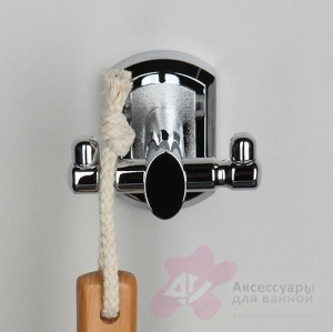 Крючок Wasserkraft Oder K-3000 K-3023D двойной хром