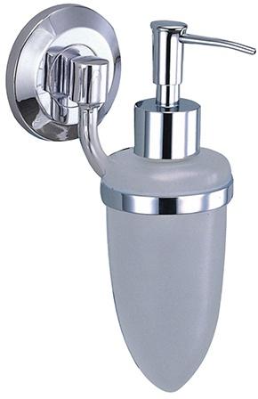 Дозатор для мыла Wasserkraft Rhein K-6200 K-6299 подвесной хром/стекло матовое