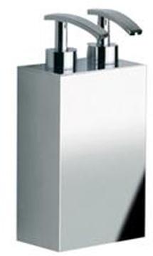 Дозатор для жидкого мыла Windisch Box Metal Lineal 90124CR настенный двойной 6 х h 20 см хром