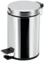 Ведро ALL.PE Complementi CV010-03L CR для мусора с педалью хром