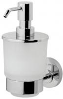 Дозатор AM.PM Bliss L A5536964 для жидкого мыла подвесной хром / стекло матовое