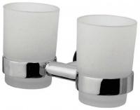 Стакан AM.PM Sense A75343400 подвесной двойной хром / стекло матовое