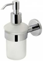 Дозатор AM.PM Sense A7536900 для жидкого мыла подвесной хром / стекло матовое
