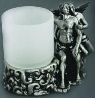 Стакан Art&Max Romantic AM-0081D-T настольный серебро