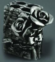 Подставка Art&Max Rose AM-0091B-T для зубных щеток настольная серебро