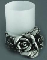 Стакан Art&Max Rose AM-B-0091D-T настольный серебро