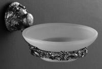 Мыльница Art&Max Sculpture AM-0685-T настенная серебро