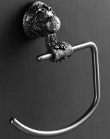 Полотенцедержатель Art&Max Sculpture AM-B-0686-T полукольцо серебро