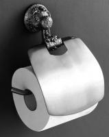Держатель туалетной бумаги Art&Max Sculpture AM-0689-T настенный серебро