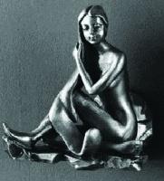 Крючок  Art&Max Juno  AM-0712-T двойной серебро