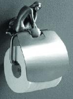 Держатель туалетной бумаги Art&Max Juno AM-0719-T настенный серебро