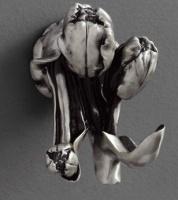 Крючок  Art&Max Tulip  AM-0822-T двойной серебро