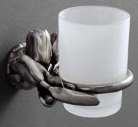 Стакан Art&Max Tulip AM-B-0824-T настенный серебро
