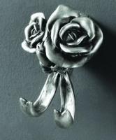 Крючок  Art&Max Rose  AM-0912-T двойной серебро