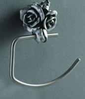 Полотенцедержатель Art&Max Rose AM-0916-T полукольцо серебро