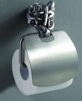 Держатель туалетной бумаги Art&Max Rose AM-0919-T настенный серебро