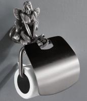 Держатель туалетной бумаги Art&Max Fairy AM-B-0989-T настенный серебро