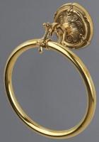 Полотенцедержатель Art&Max Barocco Crystal AM-1783-Cr-C кольцо хром / Swarovski