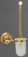 Ершик Art&Max Barocco Crystal AM-1785-Cr-C для унитаза хром / стекло матовое / Swarovski