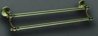 Полотенцедержатель  Art&Max Antic  AM-2648Q двойной бронза