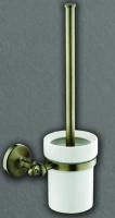 Ершик  Art&Max Antic  AM-2681Q для унитаза бронза