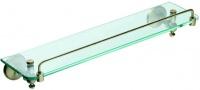 Полка стеклянная  Art&Max Antic  AM-2682Q бронза