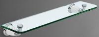 Полка стеклянная Art&Max Bianchi AM-E-3682BW хром