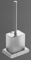 Ершик  Art&Max Platino  AM-3981al для унитаза настольный хром