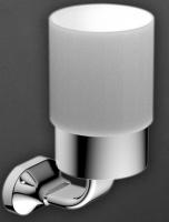 Стакан Art&Max Ovale AM-E-4068 настенный хром
