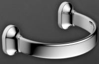 Полотенцедержатель Art&Max Ovale AM-E-4080 полукольцо хром