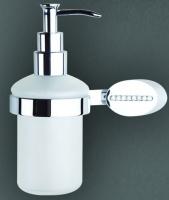 Дозатор мыла Art&Max Cristalli AM-4249 настенный хром