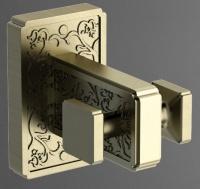 Крючок  Art&Max Gotico  AM-4886AQ двойной бронза