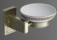 Мыльница Art&Max Gotico AM-E-4899AQ настенная бронза