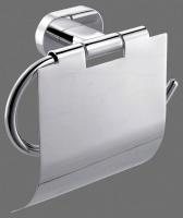 Держатель туалетной бумаги Art&Max Tito AM-8051N с крышкой хром