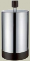 Баночка Bango&Associati Ambiente Elite wenge  AX 746 для косметики хром / wenge