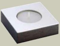 Подсвечник Bango&Associati Ambiente Elite wenge AX 861 одинарный хром / wenge