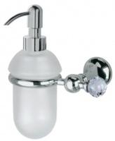 Дозатор для жидкого мыла Bagno&Associati Folie FO 127.51 SW настенный хром / Swarovski