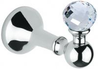 Крючок Bagno&Associati Folie FS 24151 SW одинарный хром / Swarovski