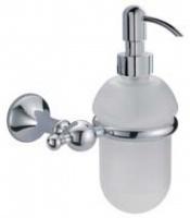 Дозатор Bagno&Associati Regency  RE 127 51 подвесной хром / стекло матовое