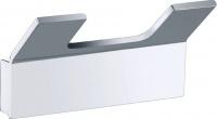 Крючок для полотенец Bemeta Solo 139106032 двойной хром