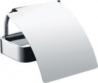 Держатель туалетной бумаги Bemeta Solo 139112012 закрытый хром