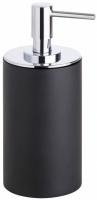 Дозатор для жидкого мыла Bemeta Gamma 145609320 настольный черный матовый/хром