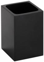 Стакан Bemeta Gamma 145611310 настольный черный