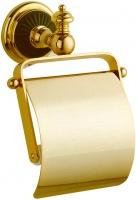 Бумагодержатель Boheme Palazzo Nero 10151 закрытый золото / керамика черная