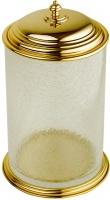 Ведро Boheme Palazzo Nero 10158 напольное золото /стекло кракле