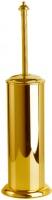 Ерш для туалета Boheme Palazzo Nero 10159 напольный цвет золото